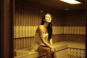 finse sauna in de tuin